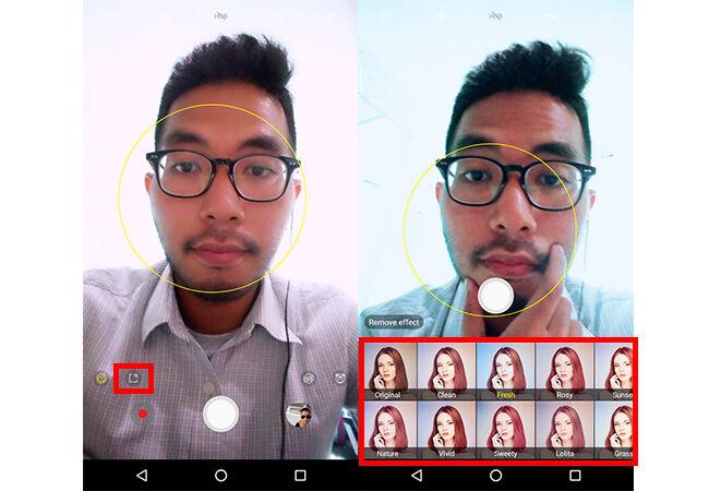 Kamera Galaxy S9 5 D101b