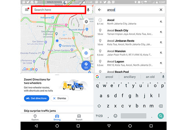 Cara Pesan Ojol Menggunakan Google Maps 1 D8578