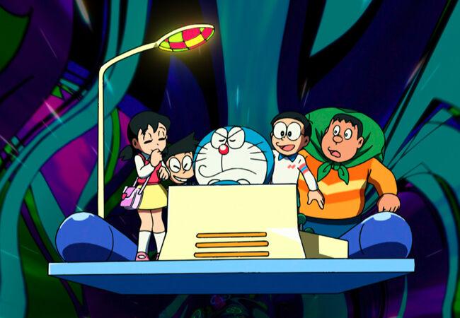 Gambar Lucu Kartun Doraemon 3 E446d
