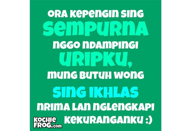 Kata Kata Lucu Bergambar Bahasa Jawa 9 F627a