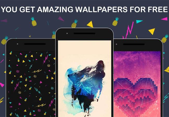 Hasil gambar untuk aplikasi Wallpapers HD, 4K Background