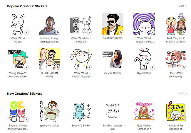 Creator Stickers