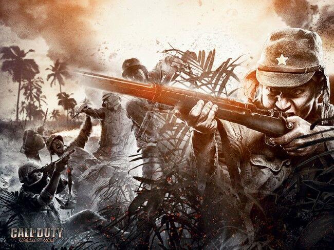 Wallpaper Call Of Duty World At War Desktop Pc Hd 3 Custom D27d6