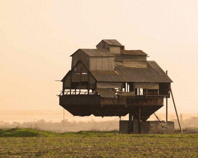 Rumah Melayang Di Udara