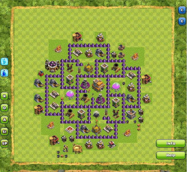 Clan War Th7 16