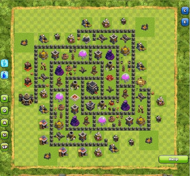 Clan War Th9 1