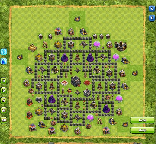 Clan War Th9 10