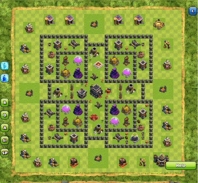 Clan War Th9 11