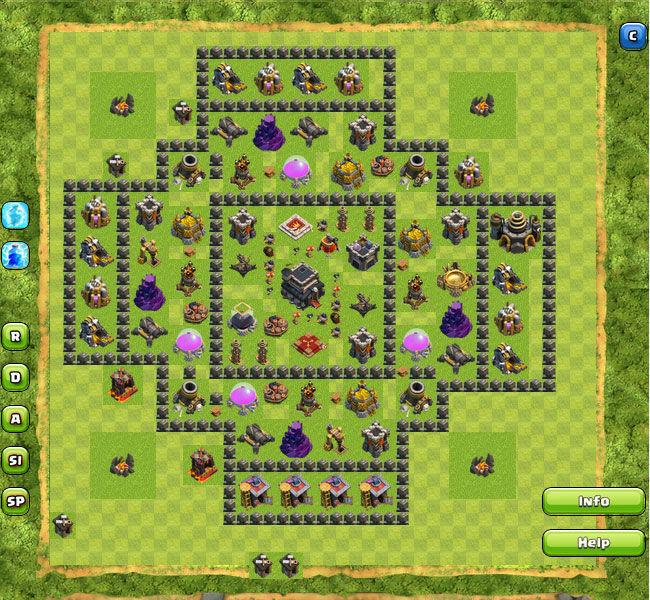 Clan War Th9 22