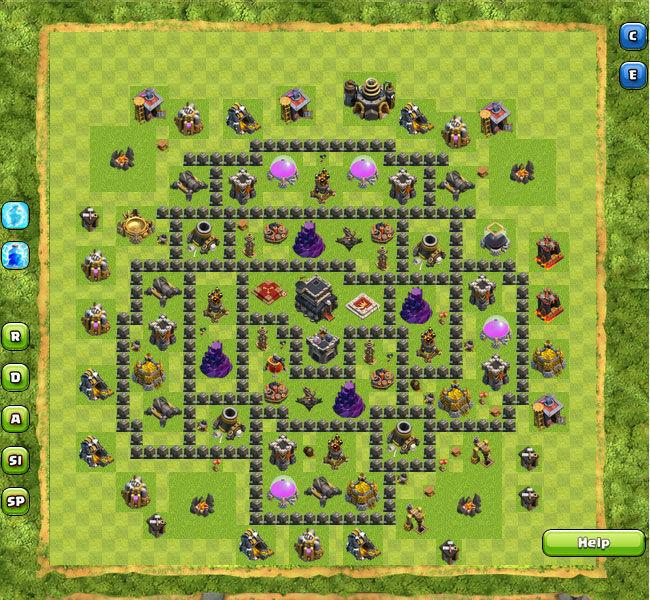 Clan War Th9 8