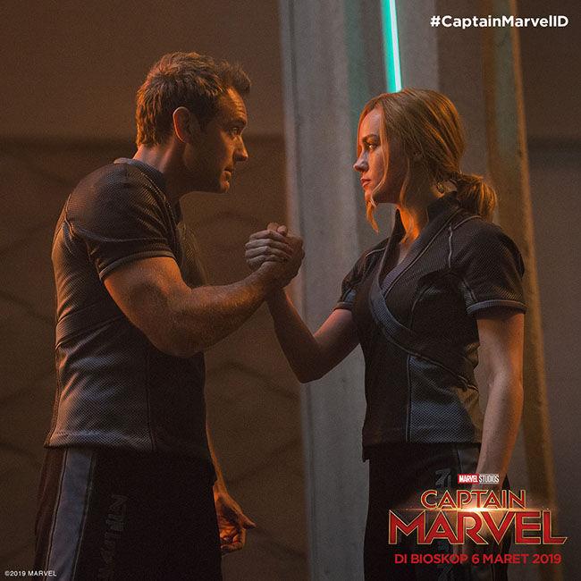Inside Captain Marvel Kree