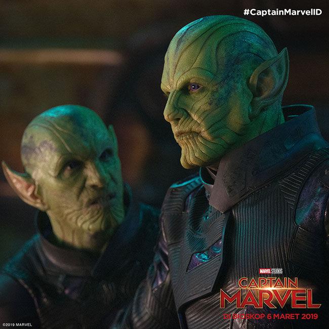 Inside Captain Marvel Skrulls