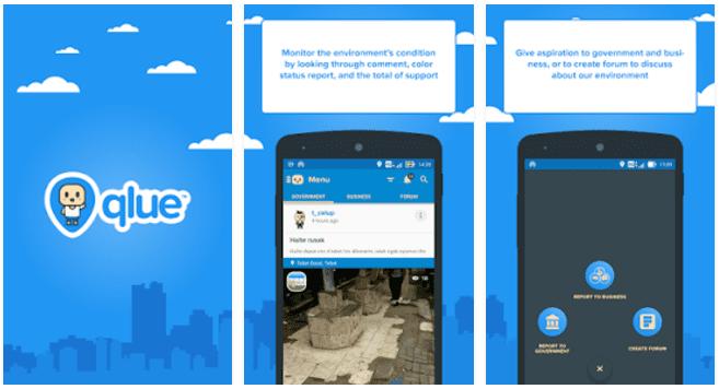 Qlue Jakarta Apps