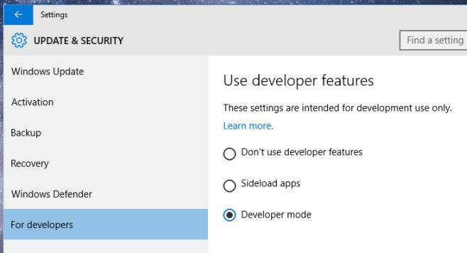 Cara Mengaktifkan Developer Mode Di Windows 10 2
