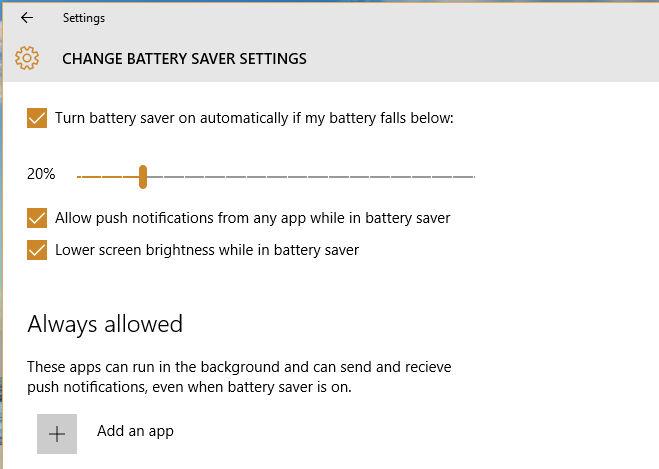 Cara Mengaktifkan Battery Saver Mode Windows 10 Otomatis 2