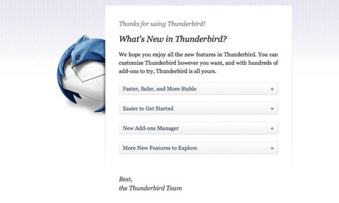 Thunderbird Terbaru Gratis