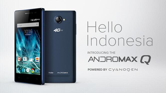 Cyanogen Andromax Q Indonesia