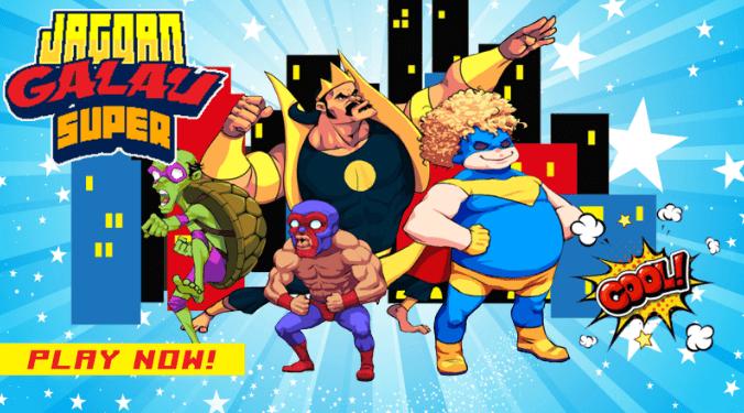 Download Pixel Super Heroes Apk