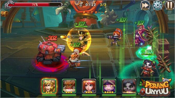 Perang Unyuu Game Moba Dan Action Rpg Terbaru 2