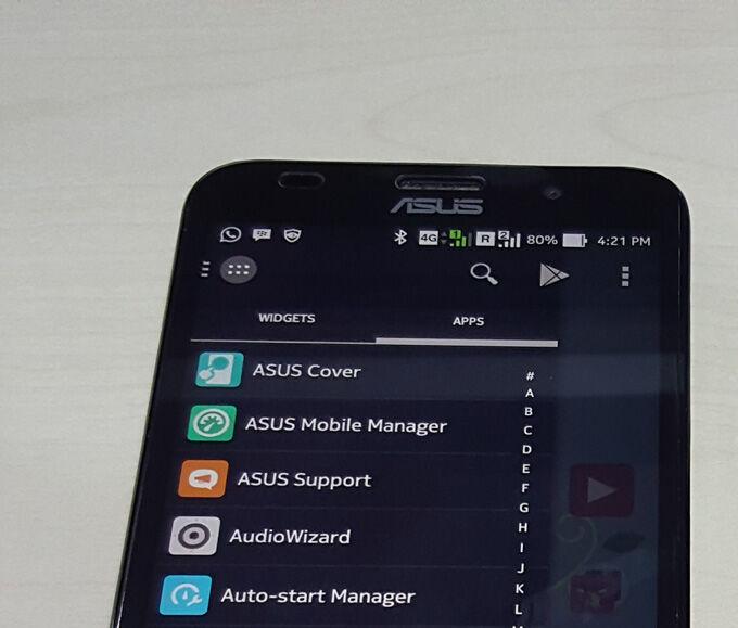 Daftar Bloatware Asus Zenfone 1