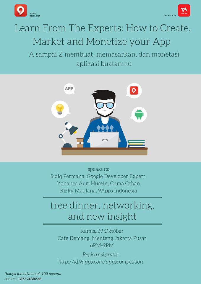 Temukan Cara Mudahnya Membuat Dan Memasarkan Aplikasi 1