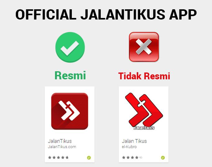 Aplikasi Jalantikus 4