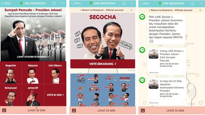 Mekanisme Voting Sticker Presiden Jokowi