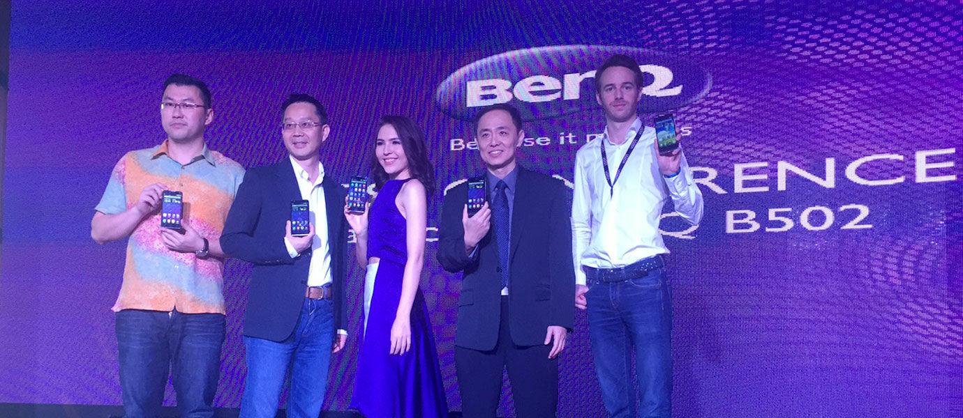 BenQ B502, Android Tipis dengan Kamera 13 dan 5 MP