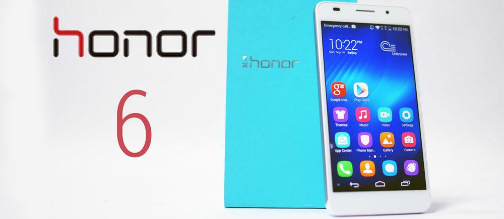 Spesifikasi dan Harga Huawei Honor 6, Desain Elegan dengan CPU Octa-rore dan RAM 3GB