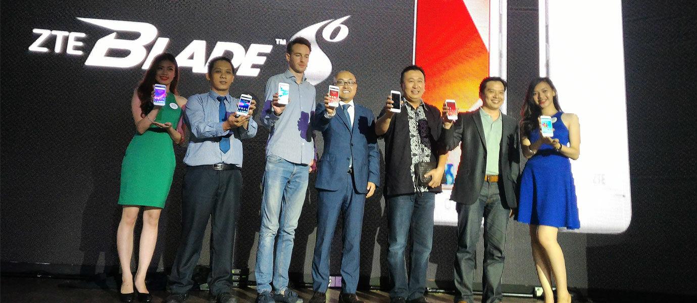 ZTE Kacaukan Pasar Android Menengah, Hadirkan Blade S6 ke Indonesia