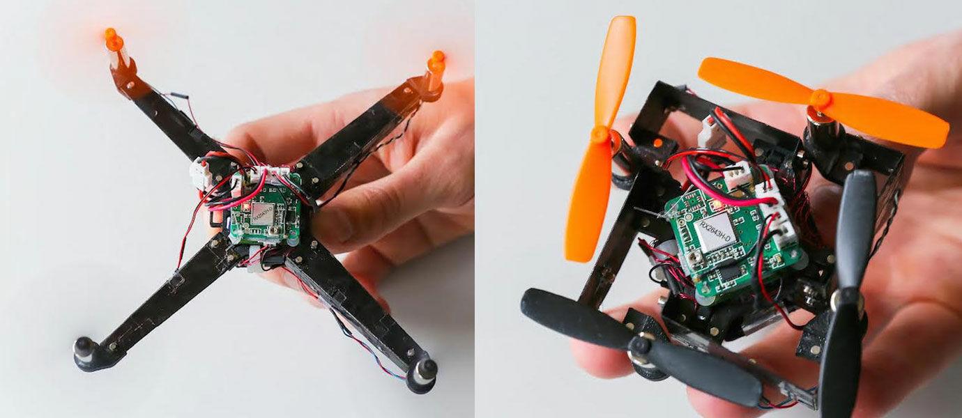 Drone Saku Ini Bisa Dilipat Layaknya Kertas Origami