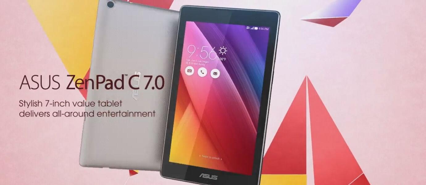 Video Resmi Asus ZenPad C 7.0 Tablet