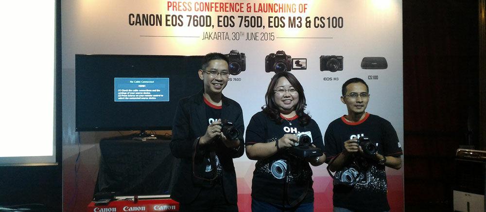 Canon EOS 750D dan EOS 760D, Kamera DSLR untuk Pemula