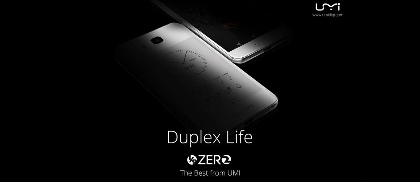 Smartphone Android ini Punya Layar Depan Belakang