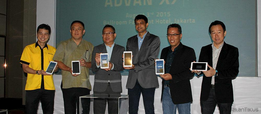 Advan Vandroid X7, Tablet Harga Murah dengan Prosesor Intel Terbaru