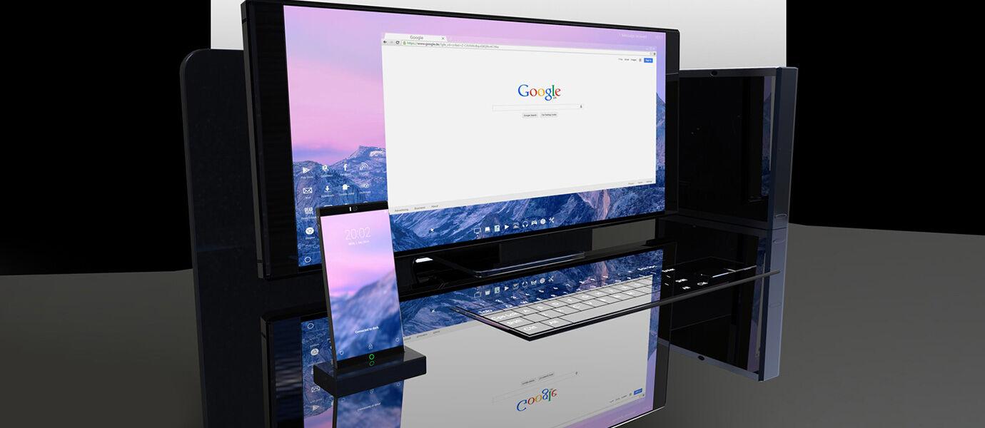 Symetium, Smartphone Sekaligus PC dengan RAM Super Gede 6 GB!