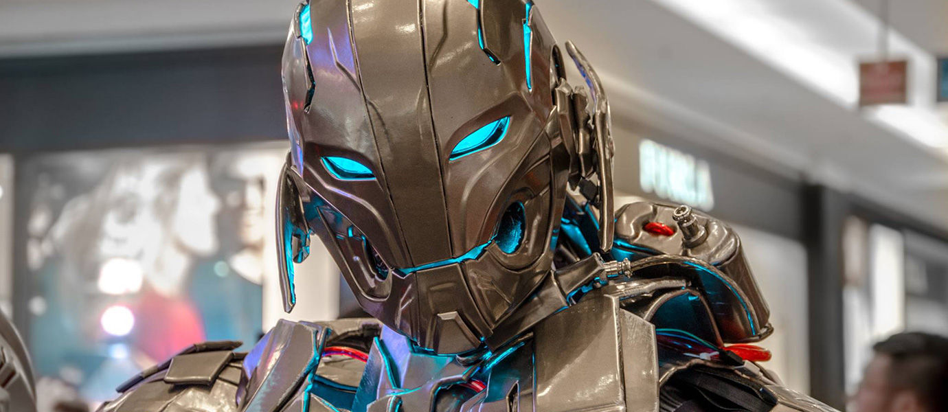 Ini Lho Kostum Cosplay Super Keren dari Ultron di Film The Avengers