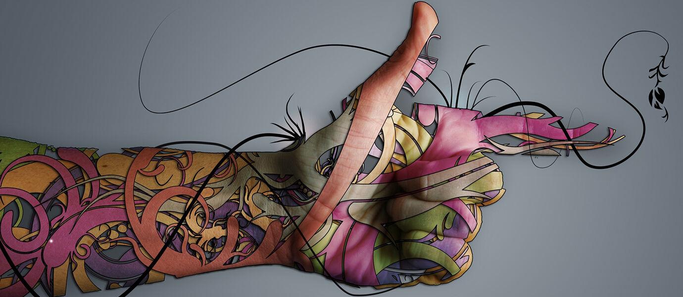 Tattoo 3Dyang Bisa Bikin Mata Kamu Melotot