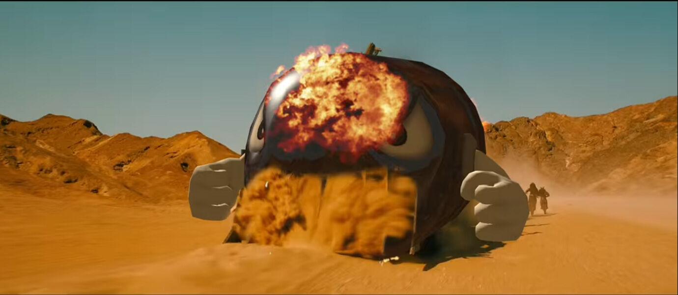 Video Edan Film Mad Max dalam Versi Mario Kart!