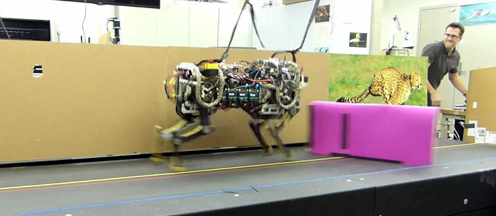 Canggih! Robot Cheetah Ini Bisa Melompati Rintangan