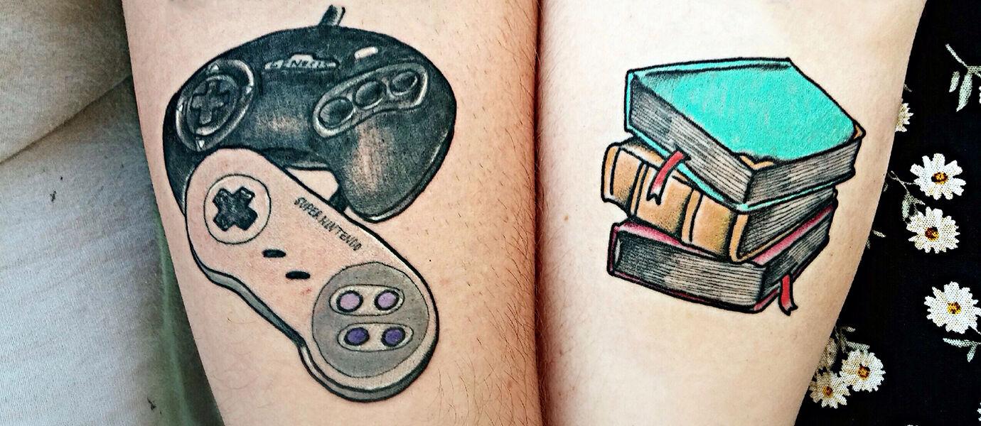 20 Tattoo Keren yang Terinspirasi dari Game Legendaris