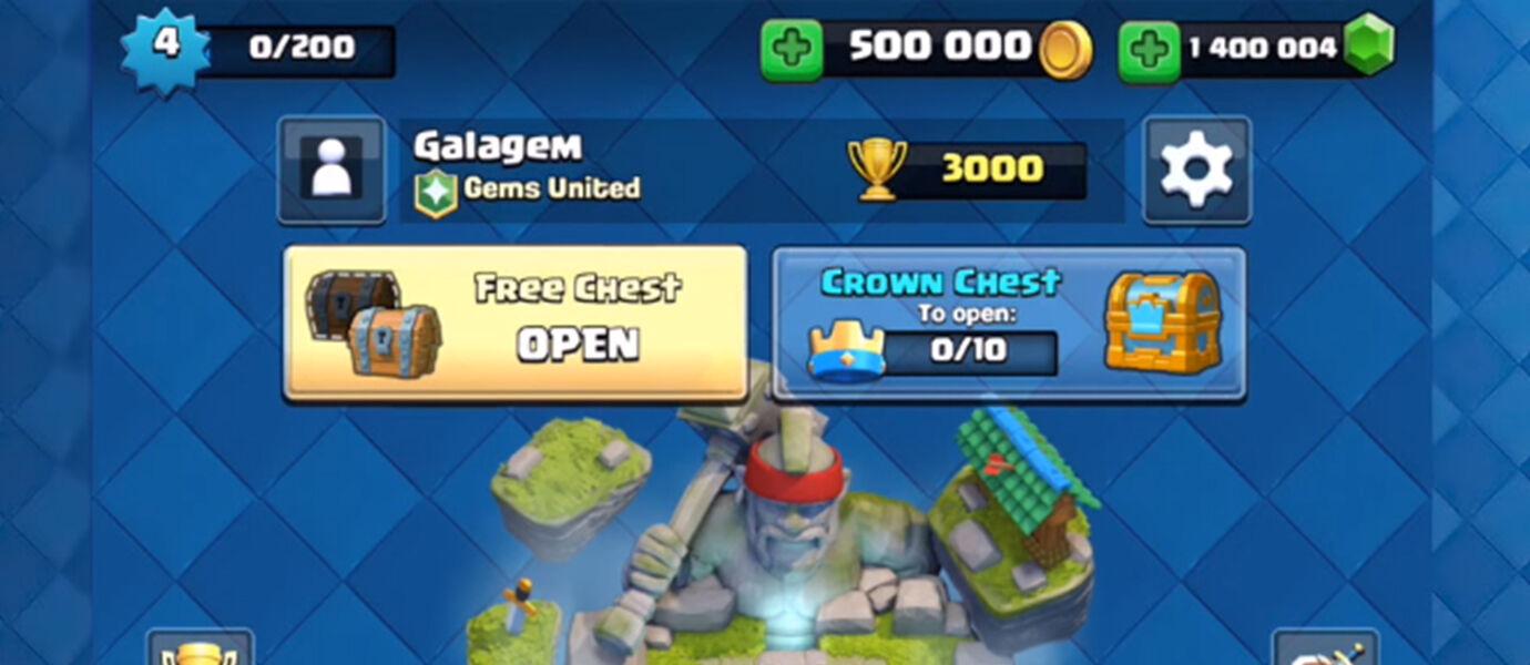 Gila! Orang Ini Habiskan 130 Juta Untuk Beli Super Magical Chest Clash Royale