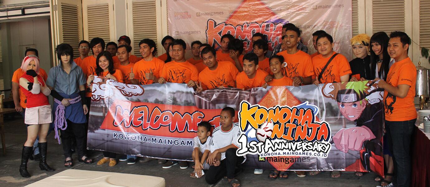 Liputan Event 1st Anniversary Konoha Ninja