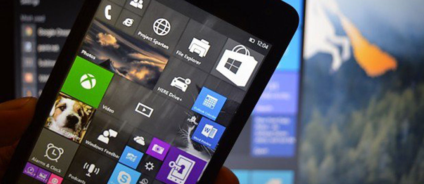 Bocoran Screenshot Live Tiles Windows 10 for Phone