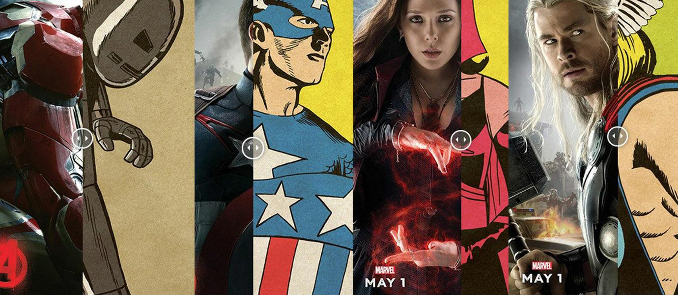 Ini Dia Penampakan Superhero The Avengers Jaman Dulu