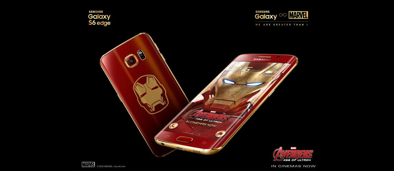 Samsung Galaxy S6 Edge Versi Iron Man Sudah Bisa Dibeli Mulai Hari Ini!