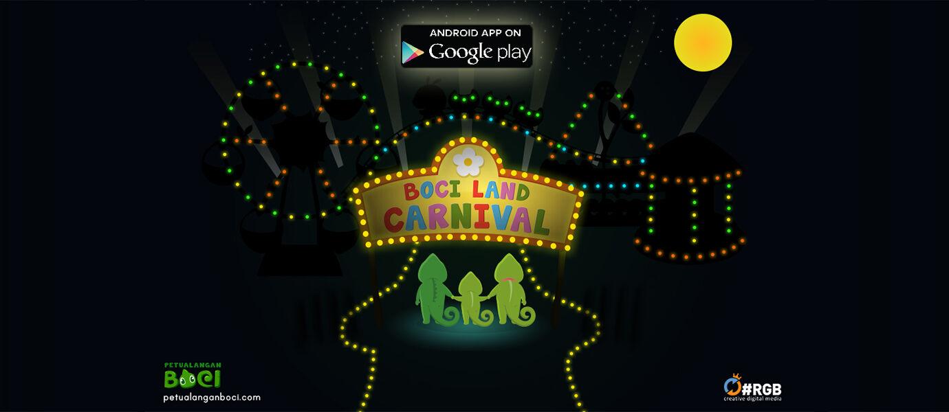 Nikmati Meriahnya Pasar Malam Lewat Android