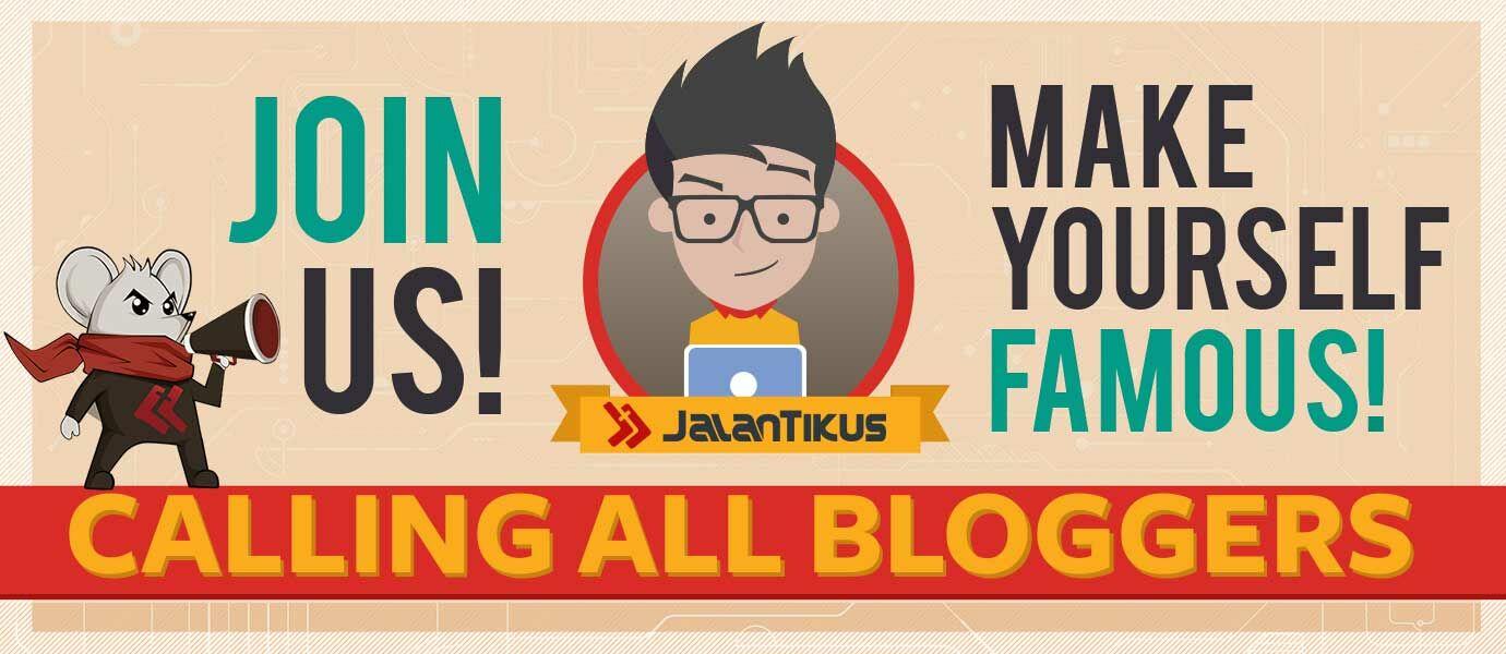 Yuk, Jadi Penulis di JalanTikus! Numpang Beken, Traffic Blog Kamu Ikutan Keren!