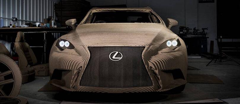 GOKIL! Mobil Listrik Ini Dibuat Terbuat Dari KARDUS Dan Bisa JALAN!