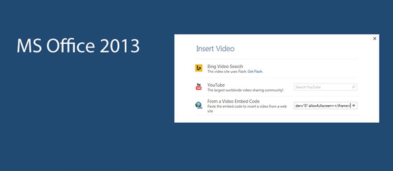 microsoft office 2013 youtube